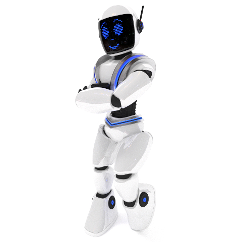 Anthropomorphic Robot Made for Childrens Program